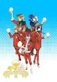 春アニメ「ラブ米 -WE LOVE RICE-」、アニメ版キービジュアル・放送情報を公開! Webサイトもリニューアル