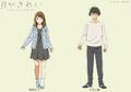 春アニメ「月がきれい」、登場キャラクターを一挙公開! キャスト、アニメ設定画が解禁に