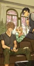 春アニメ「Room Mate」、メインビジュアル&放送情報を発表! 個性的な男子3人との刺激的な日々