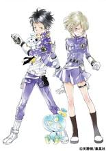 TVアニメ「エルドライブ【ēlDLIVE】」、Blu-ray&DVD第1巻のジャケット画公開! イラストは原作者・天野明の描き下ろし