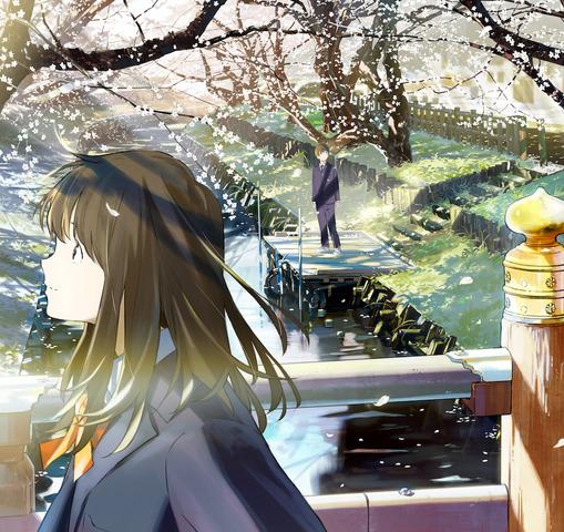春アニメ「月がきれい」、キャラ原案・loundrawによるティザービジュアルが公開! 公式サイトもオープン