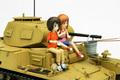 「ガルパン劇場版」より西住姉妹思い出のII号戦車がキット化! プラッツより3月発売