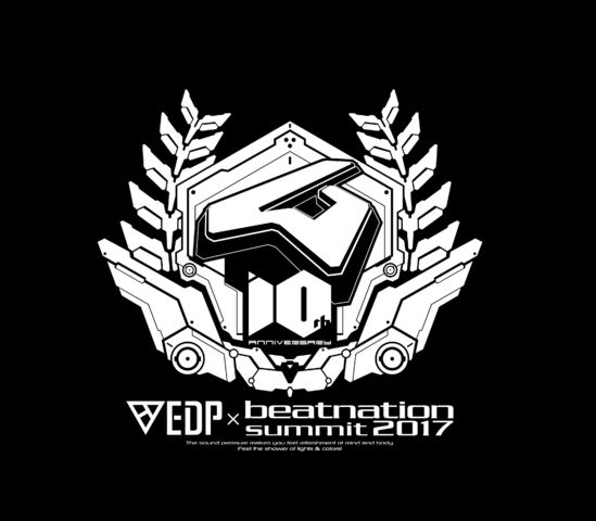 beatnation Records10周年ライブ「EDP×beatnation summit 2017 -  beatnation 10th Anniversary-」、出演者追加発表!