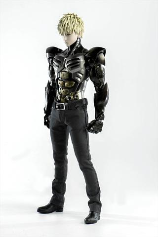 「ワンパンマン」よりジェノスが1/6アクションフィギュア化! 香港・threezeroによるハイクオリティアイテム