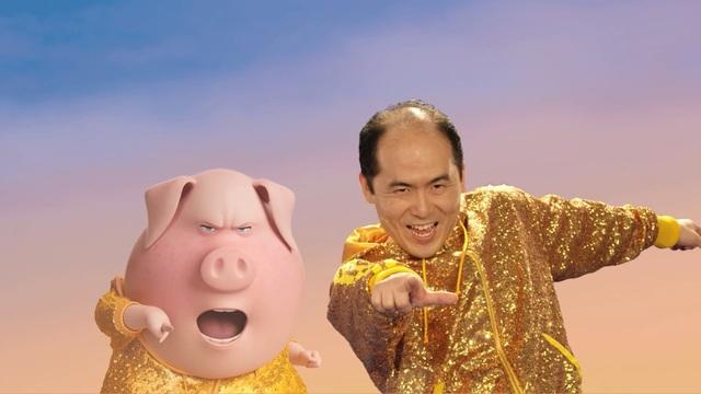 アニメ映画「SING/シング」、斎藤さん×グンターさんコラボ動画! ふたりの才能が光る夢の共演