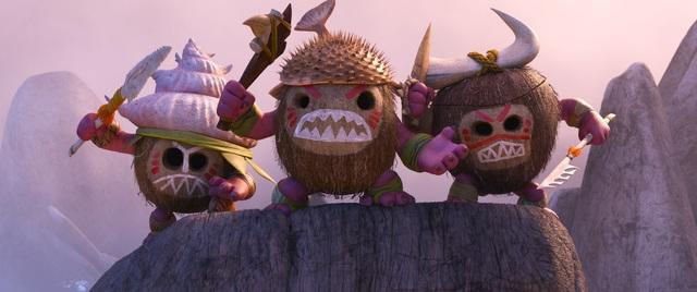 アニメ映画「モアナと伝説の海」、本編映像を解禁! 映画「マッドマックス」をリスペクトした迫力のワンシーン