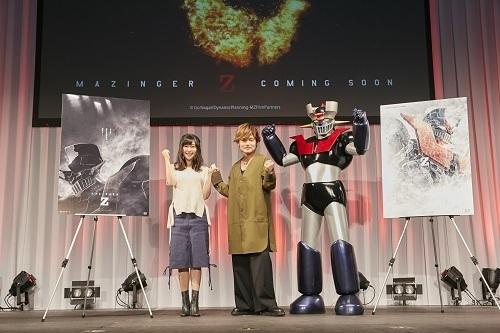 【AnimeJapan2017】巨大ロボットアニメの原点「マジンガーZ」起動記念イベントをレポート、森久保祥太郎に茅野愛衣ら主演&ヒロイン声優も大発表!