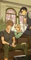 春アニメ「Room Mate」、主題歌情報&設定画公開!主題歌は前野智昭、花江夏樹、鳥海浩輔が歌う「君色スマイル」!