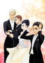 TVアニメ「ボールルームへようこそ」、公式サイトリニューアル! 第2弾キービジュアルや設定画などが公開に