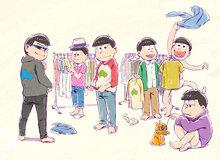 アニメ「おそ松さん」、第2期制作決定! 新ビジュアル&監督&6つ子キャストのコメントが到着!