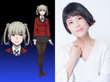 TVアニメ「賭ケグルイ」、生徒会キャストを発表! 生徒会長・桃喰綺羅莉役を沢城みゆきが演じる