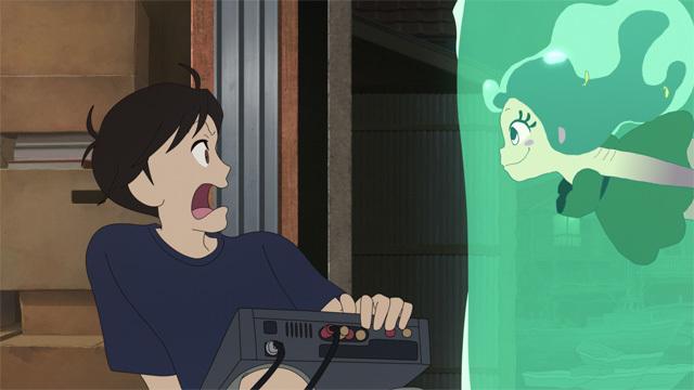 アニメ映画「夜明け告げるルーのうた」、お台場・デックス東京ビーチとコラボ決定! 22万球の光でルーの魔法を表現