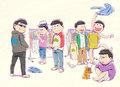 TVアニメ「おそ松さん」、6つ子の誕生日記念スペシャルムービーを公開!