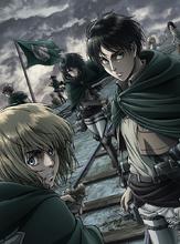TVアニメ「進撃の巨人 Season 2」、Blu-ray&DVD Vol.1のジャケット&展開図公開!!