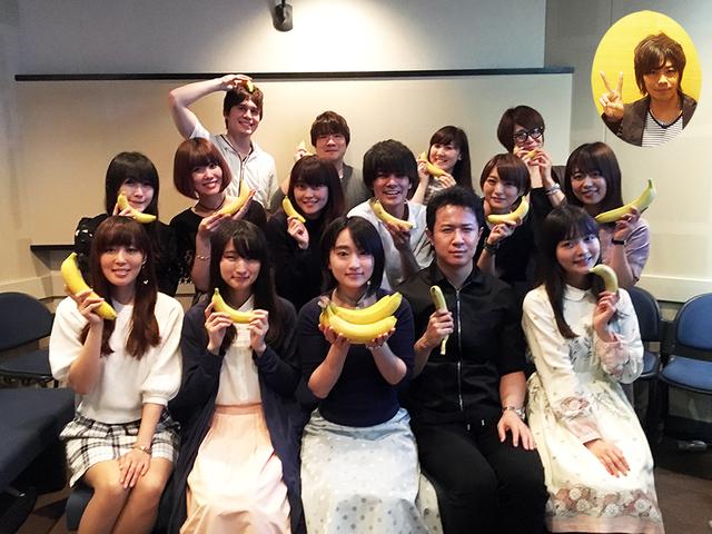 夏アニメ「アホガール」、バナナを持ったキャスト写真公開!さらに追加キャスト&第1話あらすじ、場面写も!