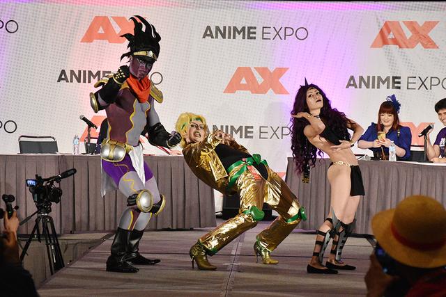 シビれる! あこがれるゥ! 今年も「Anime Expo 2017」の「ジョジョの奇妙な冒険」ステージにジョジョファンが集結ゥッ!