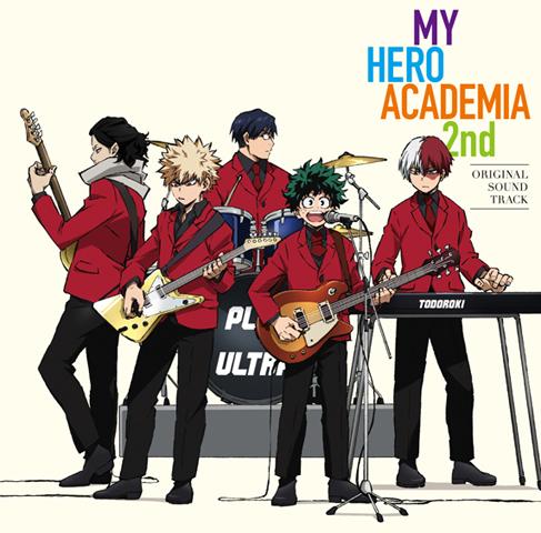 TVアニメ「僕のヒーローアカデミア」、第2期のサントラCDが9月6日発売決定!
