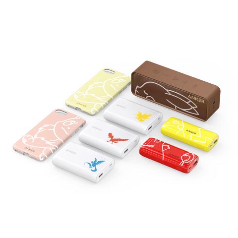 Ankerからモバイルバッテリーなど、ポケモン製品が発売! JR 新宿駅に100匹のピカチュウ集結オブジェも展開中!