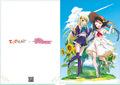 夏アニメ「異世界はスマートフォンとともに。」、コミケ92にて新グッズを発売! うちわ&クリアファイルの無料配布も