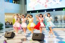 Luce Twinkle Wink☆が、アイドルの聖地・噴水広場で全力すぎるパフォーマンス! 「Fight on!」リリース記念フリーライブ