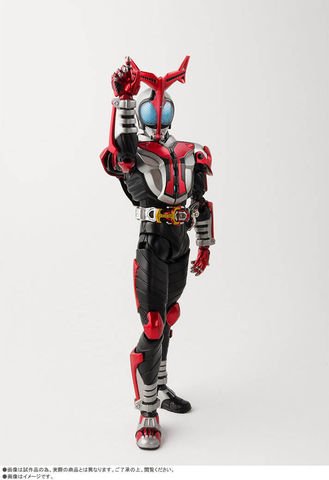 「仮面ライダーカブト」から、 ハイパーフォームがS.H.Figuarts(真骨彫製法)に登場!!