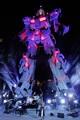 「実物大ユニコーンガンダム立像」スペシャルセレモニーで澤野弘之ボーカルプロジェクトSawanoHiroyuki[nZk]がライブ披露