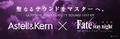 オーディオブランド「Astell & Kern」×「Fate/stay night [Heaven's Feel]」、最新ハイレゾDAP「AK70 MKII」ベースのコラボモデルを発売!