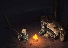 秋アニメ「少女終末旅行」、新キービジュアル&キャラビジュアルを公開! ミニキャラアニメ&AbemaTV先行配信も決定