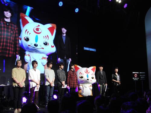 初期刀5振りを演じるキャストがステージに集結! 新刀剣男士の発表も行われた「刀剣乱舞-ONLINE-」in東京ゲームショウ2017