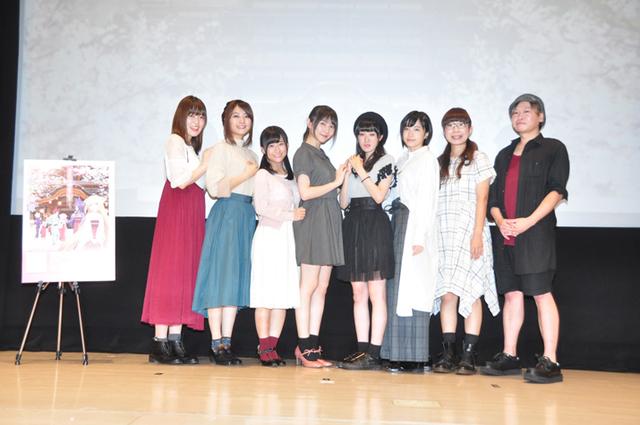 秋アニメ「このはな綺譚」先行上映イベントレポート! メインキャストらによるトークショーとeufoniusのライブを開催