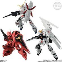 RX-93 ニューガンダム、MSN-04 サザビー、RX-0 ユニコーンガンダムがラインアップ!「機動戦士ガンダム Gフレーム」予約開始