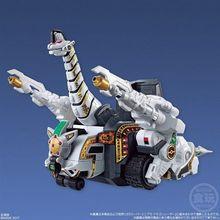 あらわれよ! 獣騎神キングブラキオン!! 「恐竜戦隊ジュウレンジャー」最後の守護獣が巨大サイズで登場!