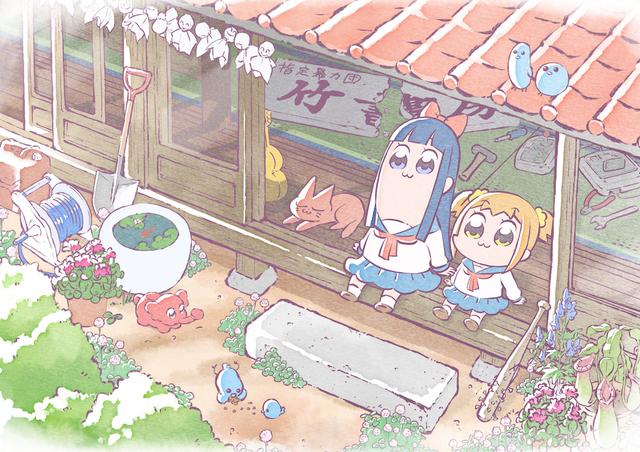 2018年1月から放送開始予定のクソアニメ「ポプテピピック」のスタッフ情報が公開! 企画&プロデュースは須藤孝太郎が担当