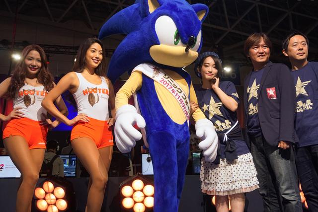 ステージもハイスピードで進行!? 悠木碧も終始ハイテンションだった東京ゲームショウ2017「ソニックフォースステージ」レポート