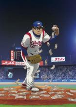 BSスカパー! 初のオリジナルアニメ「グラゼニ」、主人公・凡田夏之介役が落合福嗣に決定! 放送は2018年プロ野球シーズン開幕期