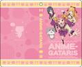 秋アニメ「アニメガタリズ」から、B2タペストリーと手帳型スマートフォンケースが発売決定!