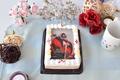 【祝! 公開!!】キャラデコプリントケーキで「コードギアス 反逆のルルーシュI 興道」公開を勝手にお祝いしてみた!!