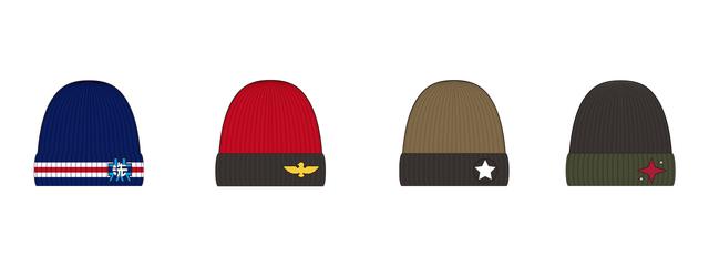 「ガールズ&パンツァー 最終章」をイメージしたニット帽の発売が決定!! これを被って戦車道を極めよう!!