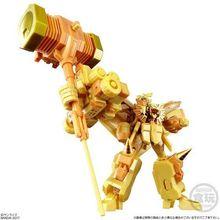 「光になれぇぇぇ!!」スーパーミニプラで金色の勇者王、降臨!!