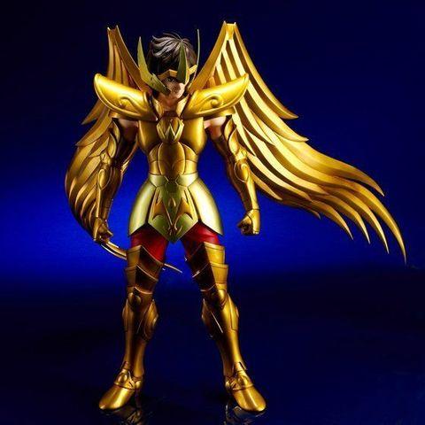 ここを訪れし少年達よ きみらに女神を託す…。「聖闘士星矢」より、「サジタリアスアイオロス」がギガンティックシリーズに登場