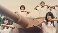 「ガルパン」まさかの実写化!?   JKが体操着で戦車を洗車するダンスムービーを公開