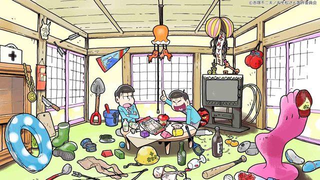 「おそ松さん」ショートアニメがdTVで独占配信決定! トト子とイヤミ×6つ子たちとの日常を描く