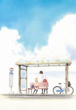 高橋未奈美、佐倉綾音が主演! ピュアな少女たちの恋と青春の輝きを描く「あさがおと加瀬さん。」が劇場公開決定&PV公開