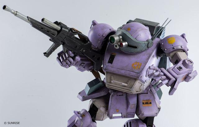 「装甲騎兵ボトムズ」より、1/12スコープドッグが新たなカラーと装備で登場!