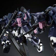 「機動戦士ガンダムMSV」より、「黒い三連星」がRGで登場!! 3機セット購入で、トリプルアクションベースが必ずもらえる!!