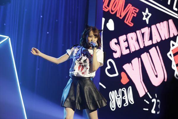 とにかくかわいい芹澤 優、23歳のバースデーライブで集ったファンを魅了する!!「Yu Serizawa 23rd Birthday Live~#Love Letter~」ライブレポート