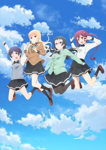 2018年1月4日放送スタートの「ラーメン大好き小泉さん」、 BD&DVDが全2巻で発売決定!
