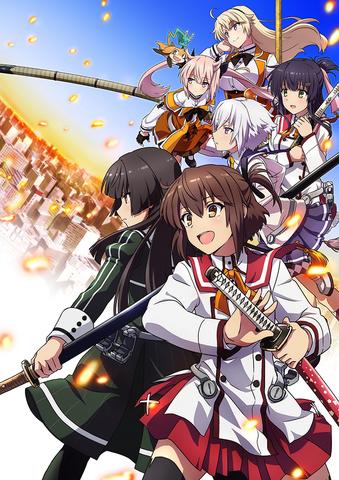 1月5日放送スタートの「刀使ノ巫女」、キャスト出演の放送直前ニコ生特番が決定!  第3弾PVも公開に