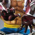 ドフラミンゴに超ダメージを与えた「獅子・バズーカ」を放つルフィが、約36cmのド迫力フィギュアになって登場!!