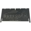 「ゆるキャン△」仕様の焚き火グリル『笑's B-6君「リンちゃんのYAKINIKUセット」』が発売決定!